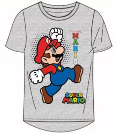 Super Mario T-shirt - Grijs