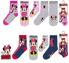 Minnie Mouse Sokken - 3 paar