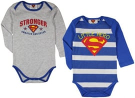 Superman Rompertje Lange Mouw - Disney Baby