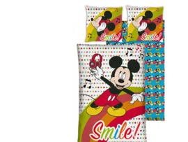 Mickey Mouse Dekbedovertrek 140 x 200 cm - Smile