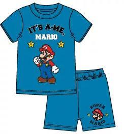 Super Mario Shortama - Licht Blauw