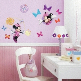 Minnie Mouse Muurstickers - Roommates