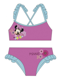 Minnie Mouse Bikini - Blauwe Rushes