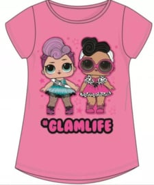 LOL Surprise T-shirt - Glamlife Roze