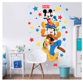 Mickey Mouse XXL Muursticker - Walltastic