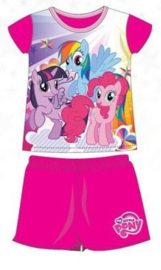My little Pony Shortama - Fuchsia Mouw