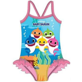Baby Shark Zwempak / Badpak - Roze Rushes