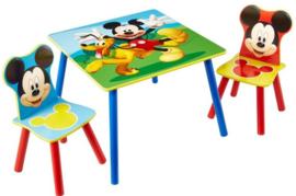 Mickey Mouse Tafel met 2 Stoeltjes - WorldsApart