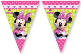 Minnie Mouse Vlaggenlijn - Roze