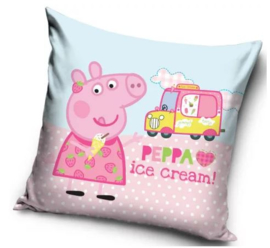 Peppa Pig Kussen - Ice Cream