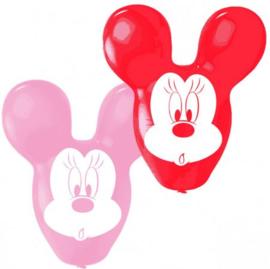 Minnie Mouse Ballonnen - 4 stuks