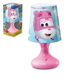 Super Wings Led Lampje - Roze Voet