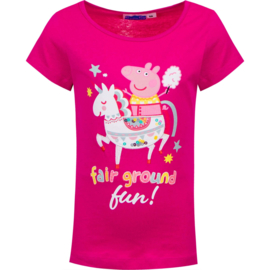 Peppa Pig Unicorn T-shirt - Fuchsia