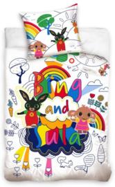 Bing Konijn Baby Dekbedovertrek 100 x 135 cm - Bing en Sula