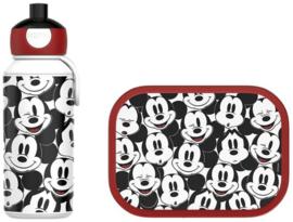 Mickey Mouse Lunchset: Broodtrommel met Pop-up Beker - Mepal