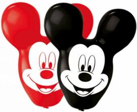 Mickey Mouse Ballonnen - 4 stuks