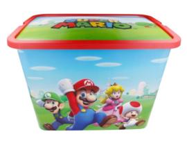 Super Mario Opbergbox - 23 Liter
