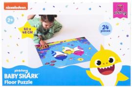 Baby Shark Vloerpuzzel - 24 stukjes - Pinkfong