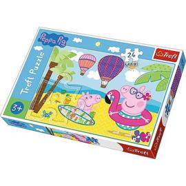 Peppa Pig Puzzel - 24 Maxi stukjes - Trefl