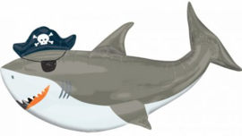 Baby Shark Folie Helium Ballon Haai XXL - Hervulbaar