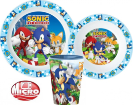 Sonic the Hedgehog Kinderservies met Beker - Magnetron