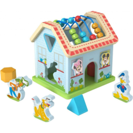 Mickey Mouse Houten Activity Huisje - Disney Baby