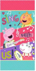 Peppa Pig Badlaken / Strandlaken - Sing