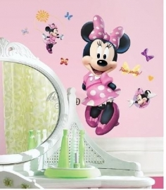 Minnie Mouse Muursticker Giant - Roommates