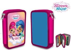 Shimmer & Shine Gevulde Etui - 2 laags