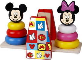 Mickey Mouse & Minnie Mouse Houten Disney Balans Stapeltoren