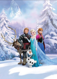 Disney Frozen Behang Winterland - 254 x 184 cm