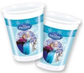 Disney Frozen Skating Bekertjes - 8 stuks