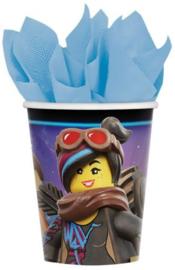Lego Movie  Bekertjes - 8 stuks