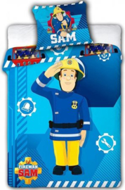 Brandweerman Sam Baby Dekbedovertrek 100 x 135 cm