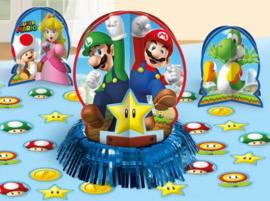 Super Mario Tafel Decoratie - 23 delig