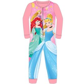 Disney Princess Pyjama / Onesie / Jumpsuit - Roze