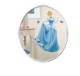 Disney Princess Muursticker XL Cinderella  - Roommates
