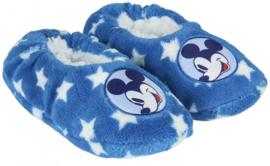 Mickey Mouse Pantoffel Slofjes - Licht Blauw