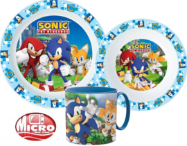 Sonic the Hedgehog Kinderservies met Mok - Magnetron