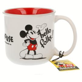 Mickey Mouse Mok 90 Jaar - Keramiek