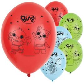 Bing Konijn Ballonnen - 6 stuks