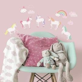 Eenhoorn / Unicorn Muurstickers - Roommates