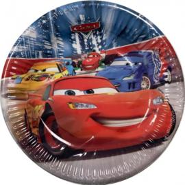 Disney Cars Gebaksbordjes - 8 stuks