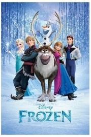 Disney Frozen Cast - Maxi Muurposter
