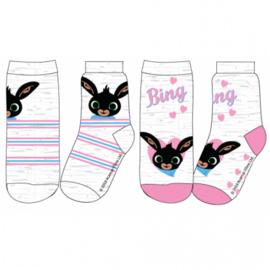 Bing Konijn Sokken - 2 paar - Meisje