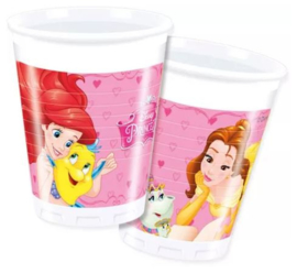 Disney Princess  Bekertjes - 8 stuks