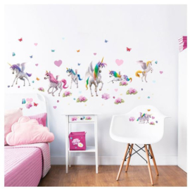 Eenhoorn / Unicorn Room Decor Kit Magical - Walltastic
