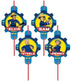 Brandweerman Sam Rietjes - 8 stuks