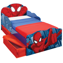 Spiderman Bed met Laden en Verlichting - WorldsApart