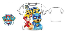 Paw Patrol T-shirt Pups - Wit